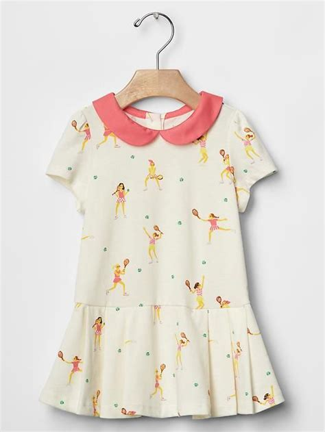 Polka Nori Dress collar tennis dress gap nori tennis