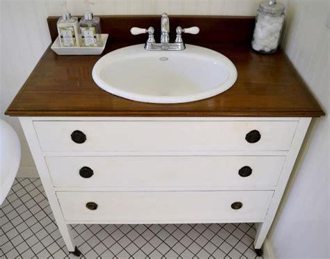 diy bathroom vanity ideas from dresser3 furniture