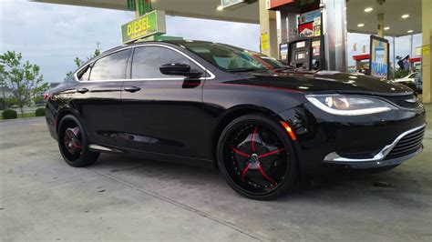 chrysler 200 typechrysler 200 on 22s chrysler 200 with 22 in rims
