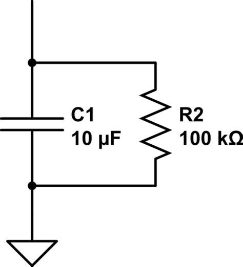 resistance capacitor parallel lengthening charging time of a capacitor electrical engineering stack exchange