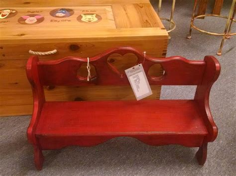 heart bench red heart bench delmarva furniture consignment