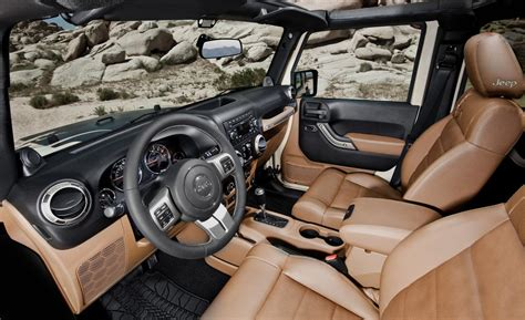Jeep Unlimited Interior Photos by Car And Driver