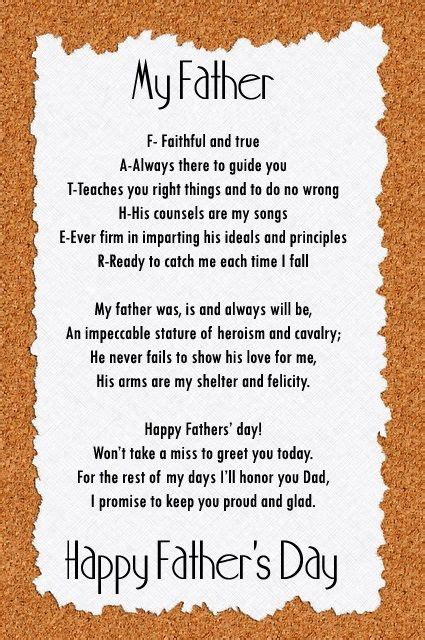 fathers day poems from fathers day poems from a s day poems and