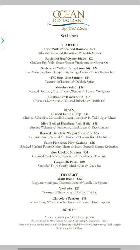 Cat Cora S Kitchen Menu by Live Eat Travel Shop 5th Anniversary At Restaurant