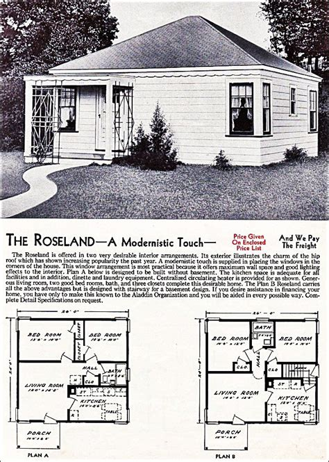 1931 kit home aladdin bungalow the carlton 109 best vintage aladdin homes company floor plans mail