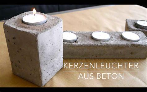 kerzenständer selber machen 4166 diy beton kerzenst 228 nder anleitung kinderleicht