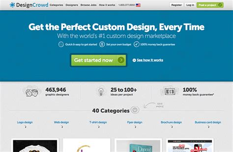 Designcrowd Freelance Job | freelance websites