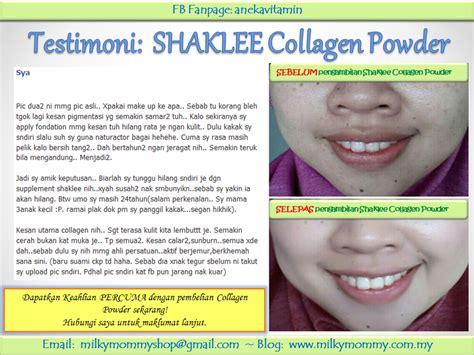 Collagen Powder Shaklee testimoni pengguna shaklee collagen powder firdaus