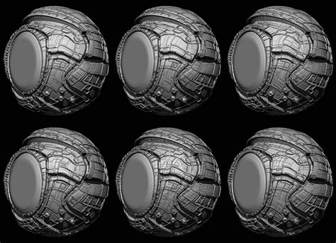zbrush boolean tutorial greeble pack for zbrush 4r7 zbrush tutorials pinterest
