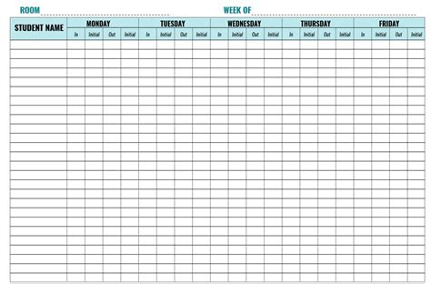 groundhog day vidzi sign in sheet template 7 28 images 7 sign in sheet