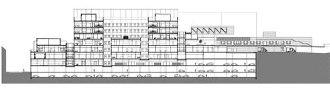 Section 4 F by Gallery Of Extension And Remodeling Of Hospital Sant Joan