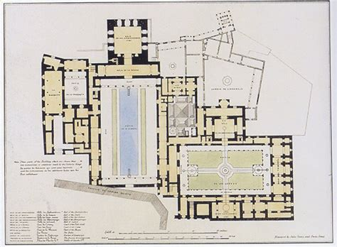 Alhambra Plan by Alhambra Palace Plan Jumble Of Interest