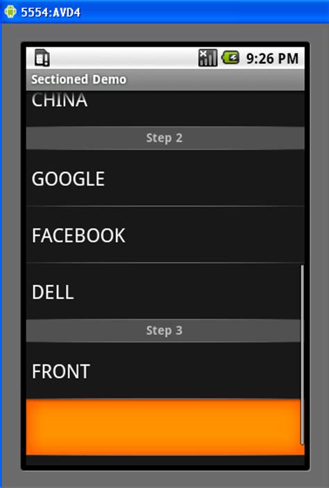 listview android android tutorials android listview header two or more in android