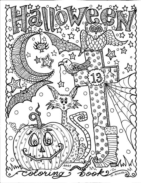halloween coloring pages detailed 737 best coloring pages images on pinterest coloring