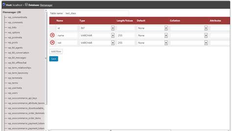 Delete Records Database Manager Plugin Pluginspress