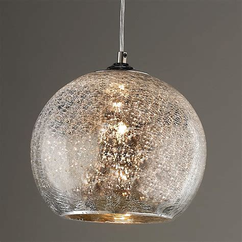 glass pendant light crackled mercury bowl pendant light pendant lighting