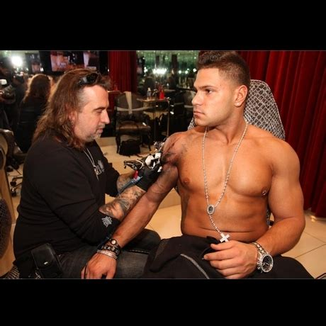 cross tattoo ronnie jersey shore ronnie s new tattoo fist pump photo 0 tmz com