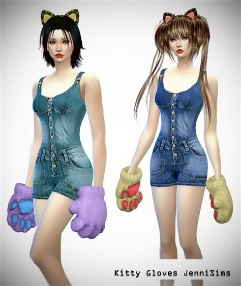 jennisims downloads sims 4 new mesh accessory sets bow jennisims downloads sims 4 new mesh accessory kitty