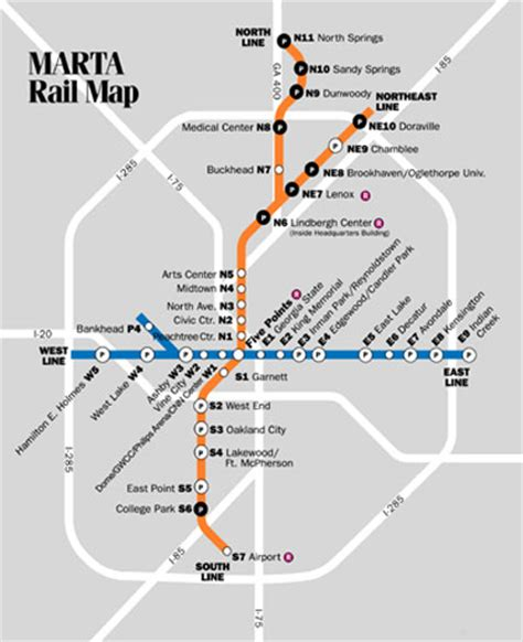 atlanta marta map marta schedule in atlanta