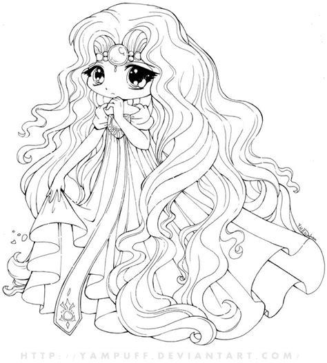 chibi princess coloring pages princess emeraude chibi by yampuff on deviantart