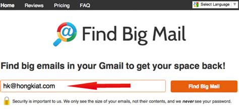 How To Find On Instagram With Email How To Find And Sort Gmail Emails By File Size Hongkiat