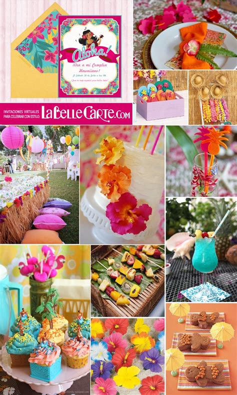imagenes de cumpleaños hawaiano invitaciones de cumplea 209 os e ideas para celebrar una