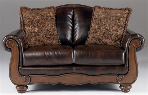 barcelona loveseat barcelona antique loveseat from ashley 5530035 coleman