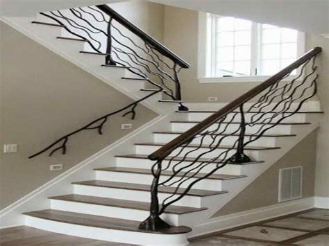 Banister Designs by Planning Ideas Staircase Banister Designs Wrought Iron