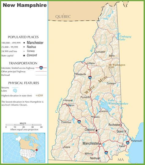 road map new hshire usa map of new jersey landforms wall hd 2018