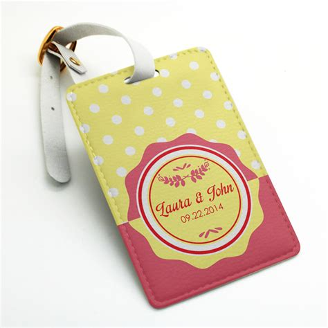 personalized tag personalized custom made welcome luggage tag bag tag travel tag wedding tag custom