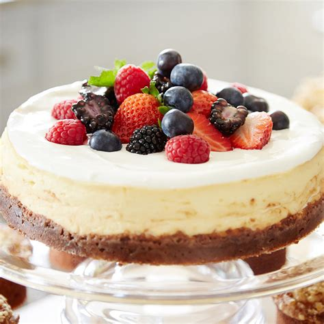 Mary Berry's American Baked Cheesecake in Cake recipes at Lakeland