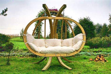 Hängesessel Garten by H 228 Ngesessel H 228 Ngeschaukel Aus Holz Mit Gestell Kacper In
