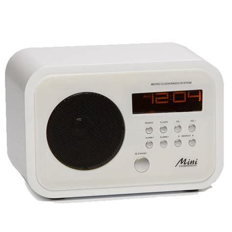 radio mit aux eingang miniradio dual alarm wecker radio radiowecker mit aux