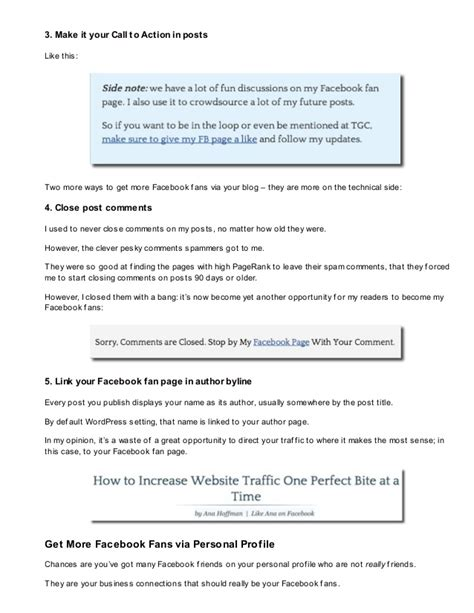 how to get fans how to get more facebook fans