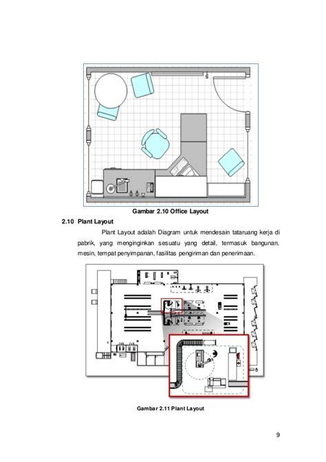 layout pabrik visio laporan ms visio