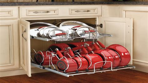 Kitchen Pan Storage Ideas Kitchen Pot Organizer Kitchen Pots And Pans Storage Ideas Kitchen Cooking Pots Kitchen Ideas