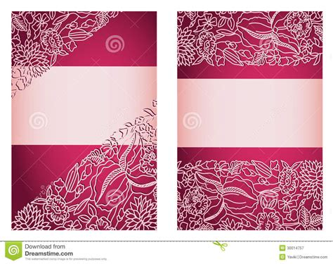 4x6 wedding invitation template invitation card template vertical stock vector image