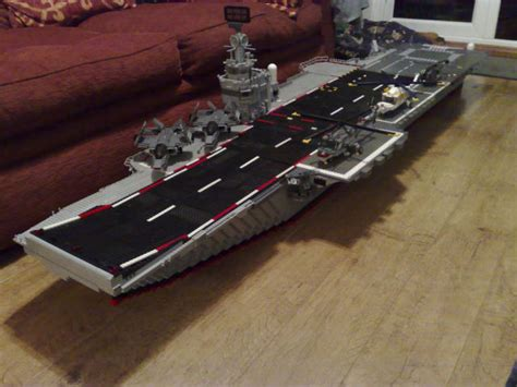 How To Make A Aircraft Carrier Out Of Paper - cool diy lego aircraft carrier 19 pics picture 17