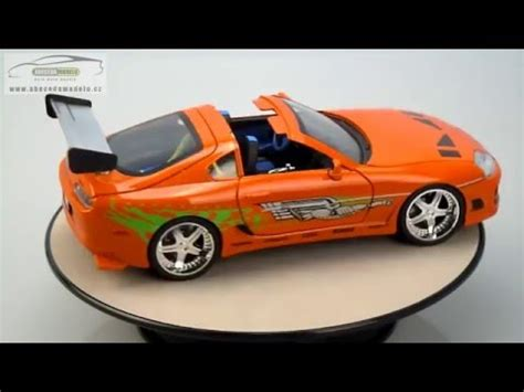 Why Are Toyota Supras So Fast Toyota Supra Brian S Fast Furious 1 1 18