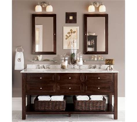 double sink bathroom ideas classic espresso double sink console has great dark