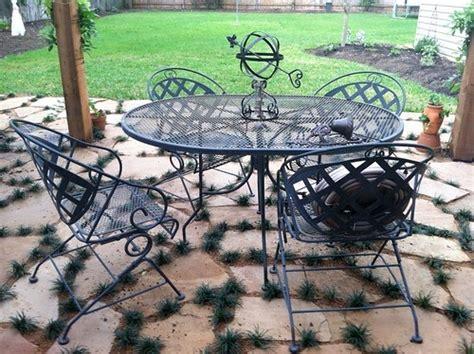 Paint Patio Furniture Metal - beachbrights painting metal patio furniture