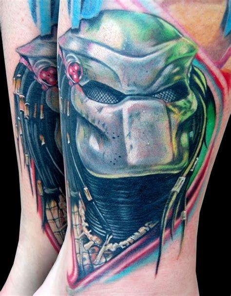 predator tattoo designs colorful predator tattooshunt