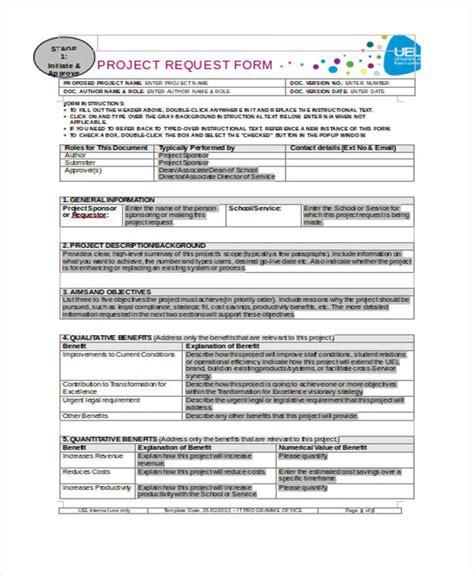 project management form templates madrat co