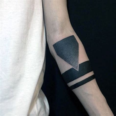solid black armband tattoo designs 70 armband designs for masculine ink ideas