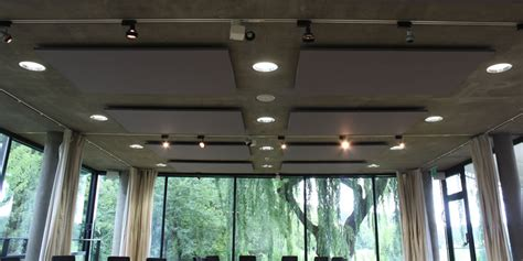 Acoustic Suspended Ceiling Tiles by Suspended Acoustic Ceiling Panels Henley Museum Soundsorba