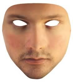 transparent face mask halloween urme prosthetic urme surveillance