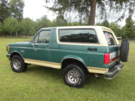 how cars run 1988 ford bronco transmission control 1988 eddie bauer ford bronco 4x4 no reserve for sale in menlo georgia united states