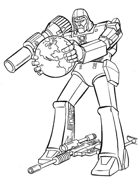 free coloring pages of grimlock transformer