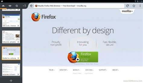 firefox home screen themes new firefox beta for android lets you add services to its