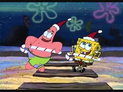 spongebob christmas song spongebob squarepants quot don t be a it s quot